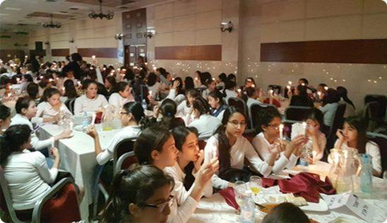 300 Shuvu girls celebrate their Bat Mitzvah